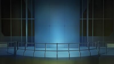 ▲ビル展望台エントランスのアップ