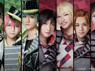B-PROJECT on STAGE『OVER the WAVE!』の日程とTHRIVE・KiLLER KiNGのキャラクタービジュアルを公開!