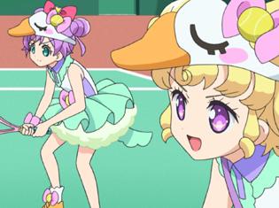TVアニメ『アイドルタイムプリパラ』第8話より先行場面カット到着!らぁらとゆいは、前から目をつけていた女の子に声をかけて……