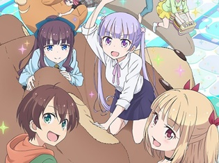 TVアニメ『NEW GAME!!』の新キャラクター役で大和田仁美さん、名塚佳織さんほかが出演決定! 先行上映イベントも開催!