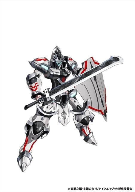 『ナイツ&マジック』高橋李依さん・内匠靖明さんが実際にロボットに乗るニコ生特番や、9話までの一挙配信が決定! 第10話先行場面カットも到着-7