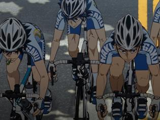 TVアニメ『弱虫ペダル NEW GENERATION』第21話の先行場面カット到着! 最強チーム、箱根学園がさらに加速!