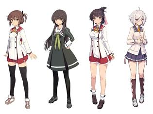 オリジナルアニメ『刀使ノ巫女(とじのみこ)』しずまよしのり氏がキャラクター原案を務めた、登場キャラ4人を大紹介