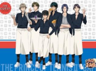 アニメ『新テニスの王子様』とのコラボカフェが大阪・心斎橋161 THE GUEST cafe&dinerにて開催