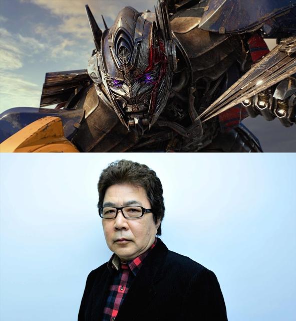 『トランスフォーマー/最後の騎士王』玄田哲章さん続投決定!