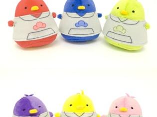 コロコロかわいい小鳥のぬいぐるみ「ちゅんコレ」シリーズにTVアニメ『おそ松さん』の六つ子が登場!