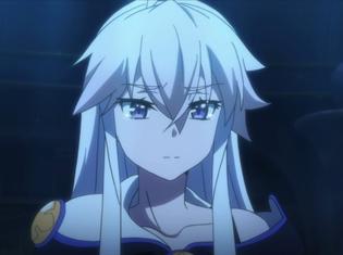 TVアニメ『ゼロから始める魔法の書』第10話より先行場面カット到着!塔の最上階までたどり着いた傭兵の前に、冷たい表情のゼロが現れて……