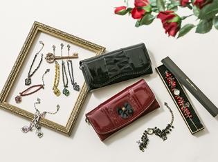 『ローゼンメイデン』より、アンティーク調の腕時計&お財布&ブレスレットが登場! ドールたちをイメージしたアイテムに