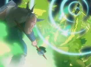 TVアニメ『銀の墓守り』第12話より、あらすじ&先行カット到着! 水銀はタケシの代わりに敵と対戦するのだが……
