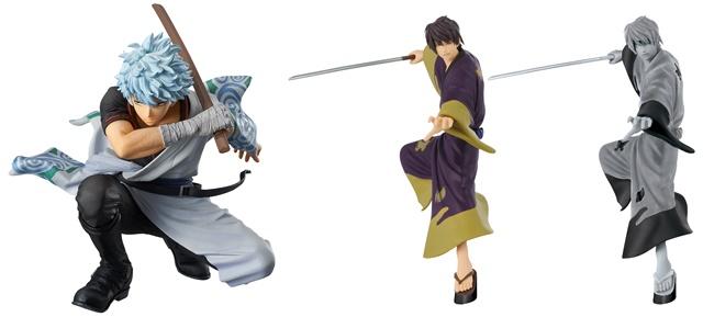 ※画像は、左:「銀魂 KING OF ARTIST 坂田 銀時」、右:「銀魂 高杉晋助フィギュア~ろくでなし二人~」です