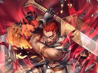 『オルタンシア・サーガ -蒼の騎士団-』呪われた鎧を身につける騎士・メビウス(CV:立花慎之介)のUR版が登場! イラスト&ゲーム画面を先行公開