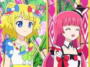 TVアニメ『アイドルタイムプリパラ』第13話より先行場面カット到着!メカ姉ぇを感動させて自爆を阻止!?