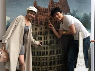 まさかのまさかず!? 声優・森田成一さんと平野綾さんがまさかの遭遇でオフショット写真を公開!