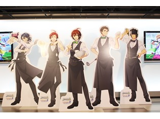 全15ユニットがあなたをおもてなし! 『アイドルマスター SideM』×アニメイトカフェフォトレポート