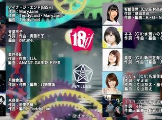 TVアニメ『18if』ED主題歌作家陣を発表! 第1話はリリィ(CV:名塚佳織)が担当するほか、水瀬いのりさん、新田恵海さんらのキャラクターも参加決定