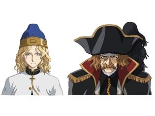 夏アニメ『将国のアルタイル』小野大輔さん・山路和弘さんが出演決定! 2人が演じるキャラのビジュアルも公開