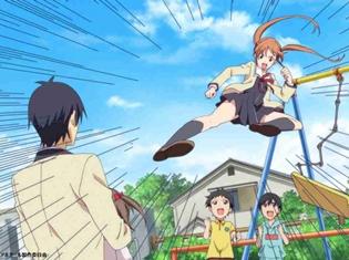 夏アニメ『アホガール』第2話より、先行カット到着! 熱川バナナワニ園・伊豆急行・熱川温泉観光協会とのコラボイベントも決定