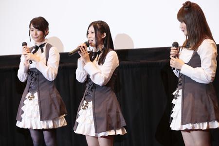 夏アニメ『プリンセス・プリンシパル』今村彩夏さん・関根明良さんら声優陣、キャラと同じ制服姿で先行上映会に登場! 今後の見所も語る
