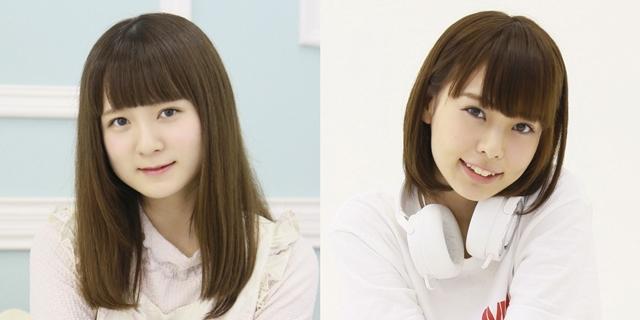 ▲左から和多田美咲さん、金魚わかなさん