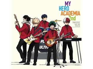 TVアニメ『僕のヒーローアカデミア』第2期サントラCDが9月6日(水)発売決定&描き下ろしジャケット公開!