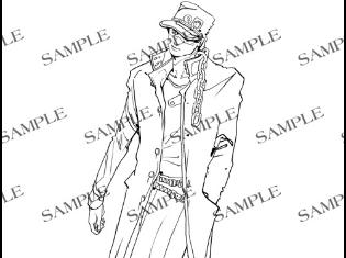 TVアニメ『ジョジョの奇妙な冒険』の第3部Blu-rayBOXに付いてくる荒木飛呂彦先生描き下ろし特典のイラストが公開!