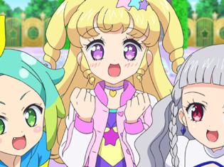 TVアニメ『アイドルタイムプリパラ』第17話より先行場面カット到着! ゆいたちが賞品目指し借り物競争大会に挑む!