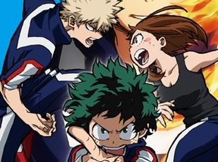 TVアニメ『僕のヒーローアカデミア』Blu-ray&DVD第3巻のジャケット公開! 初回限定特典のオリジナルドラマCD試聴開始