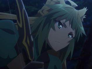 "TVアニメ『Fate/Apocrypha』第4話「生の代償、死の贖い」より先行場面カット到着!暴走した""赤""のバーサーカーが黒の陣営の本拠地へ迫って……"