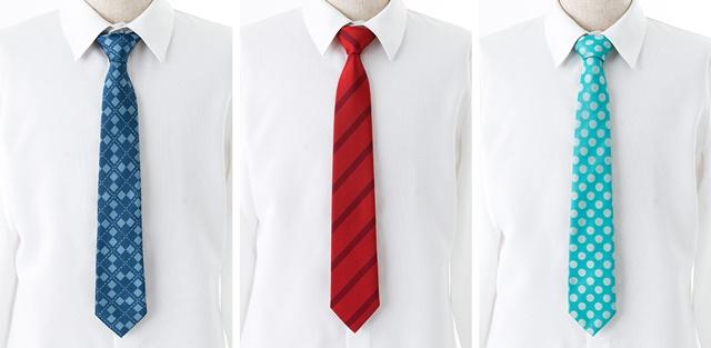 『アイマス SideM』元教師アイドルたちの愛用ネクタイが発売