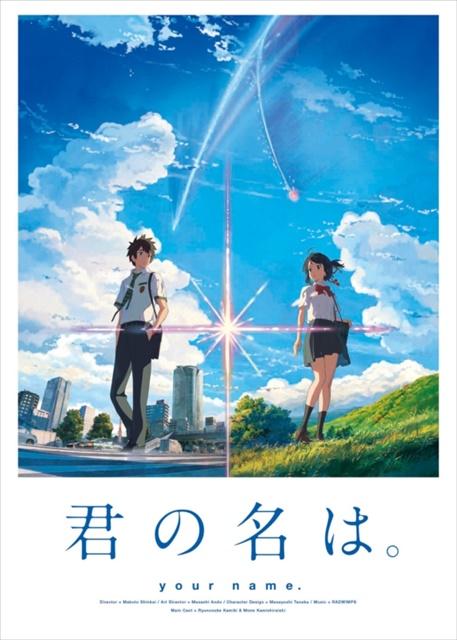 大ヒットアニメ映画『君の名は。』が早くも本日よりdTVで配信開始!『言の葉の庭』『秒速5センチメートル』など新海誠作品も好評配信中-4