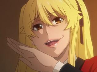 TVアニメ『賭ケグルイ』第5話よりあらすじ&先行場面カットが到着! ギャンブルの勝負の行方は、イカサマをしていた蕾が左右することとなり……?
