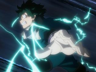 TVアニメ『僕のヒーローアカデミア』第30「決着」の先行場面カットが到着! VSステイン編、ついに決着……!!