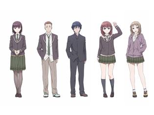 オリジナル青春アニメ『Just Because!』村田太志さん、Lynnさんらメイン声優5名が決定! アニメキャラクター設定画も公開