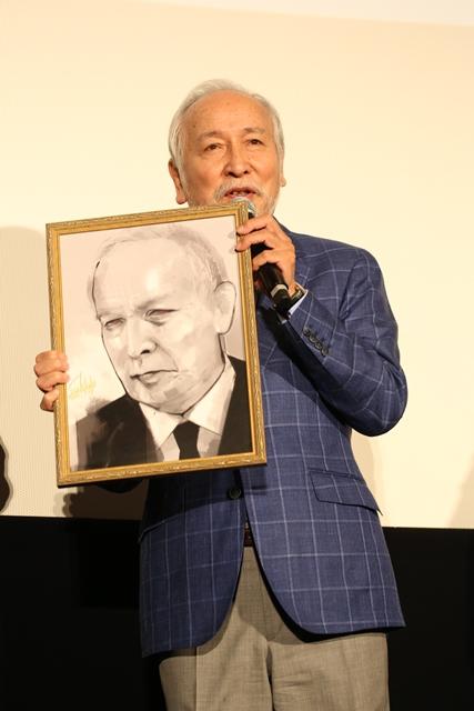 ▲村井國夫さん(「あんていく」店長:芳村役)