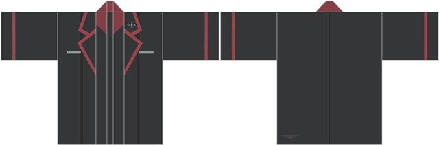 ▲「黒森峰女学園」(左から)表、裏