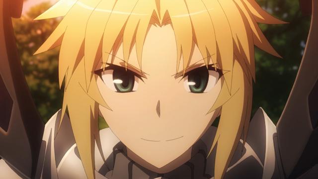 TVアニメ『Fate/Apocrypha』第6話「叛逆の騎士」より先行場面カット到着!シギショアラの街へ拠点を移した獅子劫と赤のセイバーのもとに魔術協会から一報が入り……