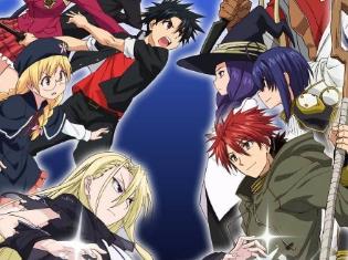 TVアニメ『UQ HOLDER! ~魔法先生ネギま!2~』主題歌が「ハッピー☆マテリアル」に決定! 新キービジュアル、追加声優情報も解禁!!