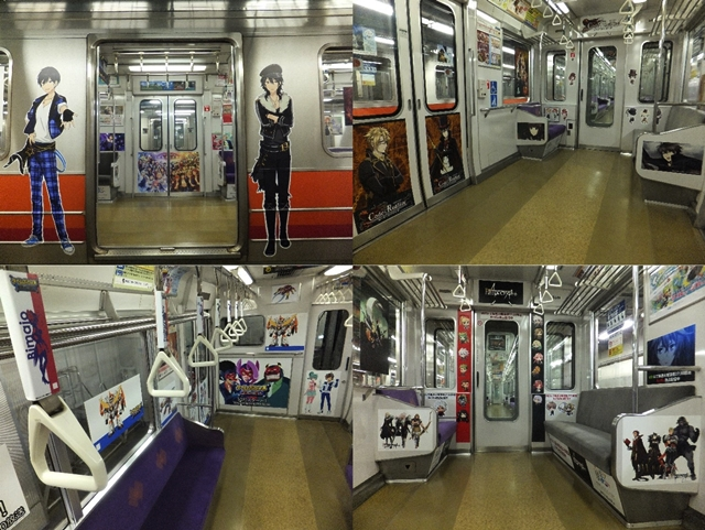 京都市営地下鉄(東西線)でアニメ列車「京まふ号」運行開始!