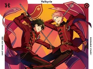 『あんスタ!』ユニットソングCD 3rdシリーズvol.4 Valkyrieのジャケットを公開! 試聴動画では表題曲と、カップリング曲が楽しめる