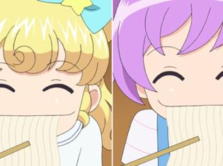 TVアニメ『アイドルタイムプリパラ』第21話より先行場面カット到着!麺パラはある人物の手中にあり制御不可能なようで……
