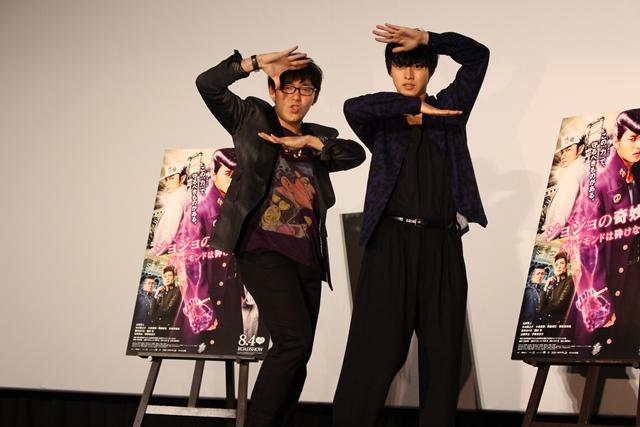 小野さん、山﨑さんが登壇ッ! 映画『ジョジョ』舞台挨拶をレポート