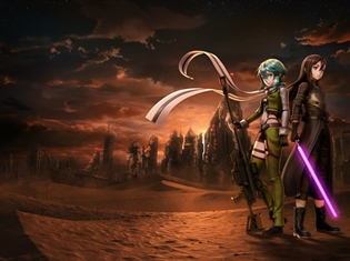ゲームシリーズ最新作『ソードアート・オンライン フェイタル・バレット』発売決定! ティザービジュアルとティザートレイラーが公開!