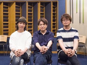 ▲左から、鳥海浩輔さん、緑川光さん、興津和幸さん