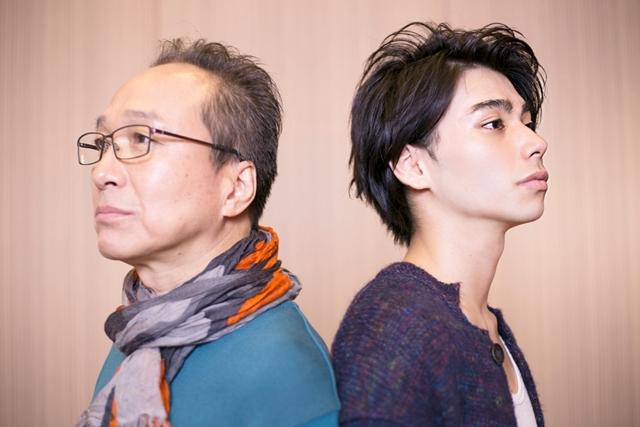 ▲左から小日向文世さん、村上虹郎さん