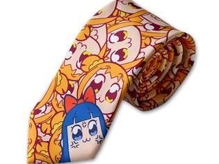 『ポプテピピック』のクソ使いやすいネクタイとフルグラフィックフェイスTシャツが登場! ポプ子とピピ美があなたの側に