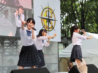 『Run Girls, Run!』がアニサマけやき広場にてスペシャルステージを開催!『Wake Up, Girls! 』のカバー3曲を披露!
