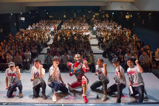 『電光超人グリッドマン』緑川光さん登壇のSPイベントより公式レポート到着