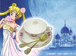 『美少女戦士セーラームーン』プリンセス・セレニティのドレスがモチーフのヒメフォーク&ティースプーンが登場! ティーカップ&ソーサーも再販決定