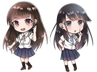 アストロガールズ第二弾モデルが発売決定! 上坂すみれさん、小倉唯さんが歌うキャラソン2曲&オーディオドラマのDLコードが封入!