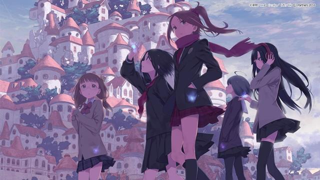 『ポッピンQ』が9月1日より「dTV」で見放題・独占配信! 東映アニメーションが贈る、15歳の女の子たちが紡ぎだす青春感動作品